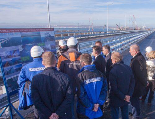 Дорожники развивают дальние и ближние автоподходы к Крымскому мосту